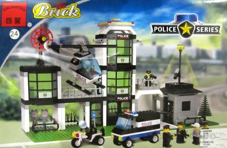 Как сделать свой лего полицейский участок